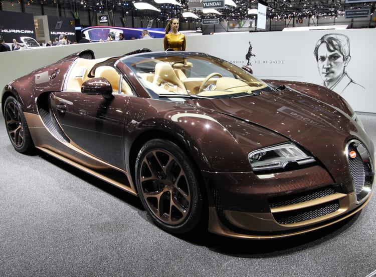 bugatti veyron grand sport vitesse rembrandt salon de gen ve 2014 les voitures de luxe. Black Bedroom Furniture Sets. Home Design Ideas