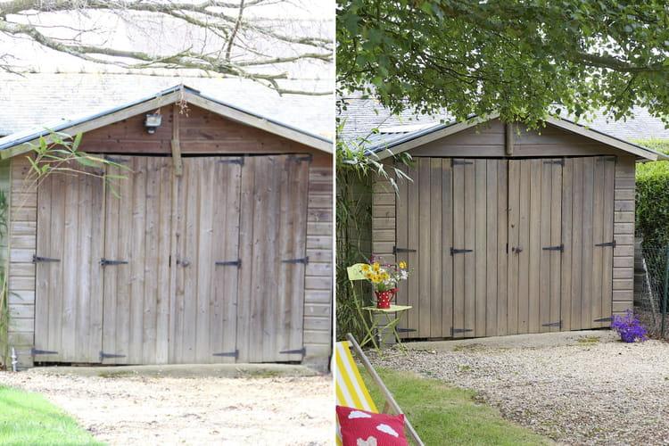 Avant apr s une cabane de jardin r nov e avant apr s une cabane de jardin restaur e - Cabane jardin oui oui rennes ...
