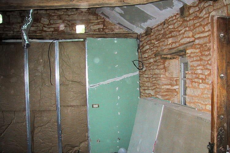 L 39 isolation de la cuisine une jolie maison en pierre for Isoler mur en pierre