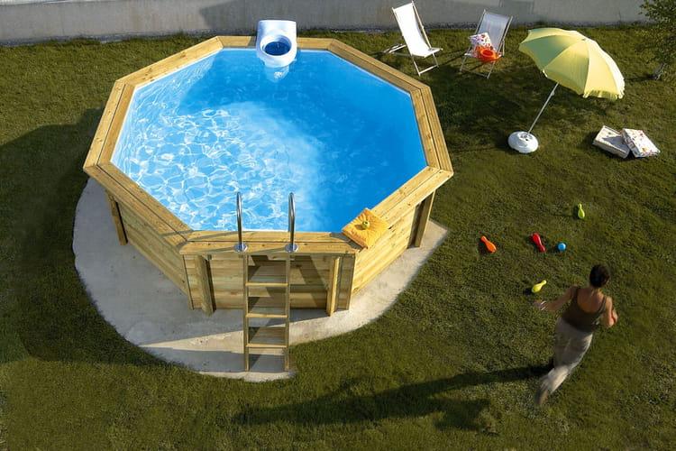 Une piscine poser for Piscine hors sol gifi