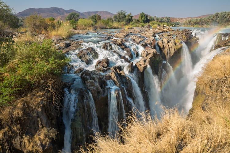 chutes depupa en namibie  chutes deau spectaculaires linternaute