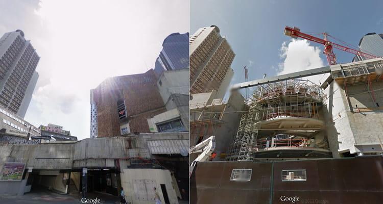 Reconstruction du centre commercial beaugrenelle paris un voyage dans le - Le centre beaugrenelle ...
