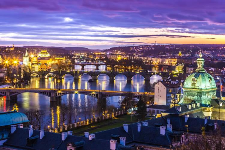 Pragues et son château