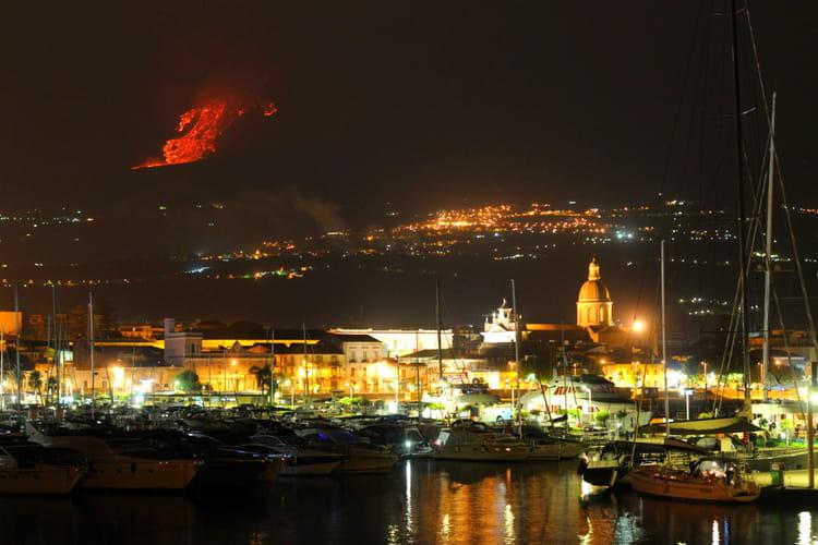 Le volcan Etna en Italie