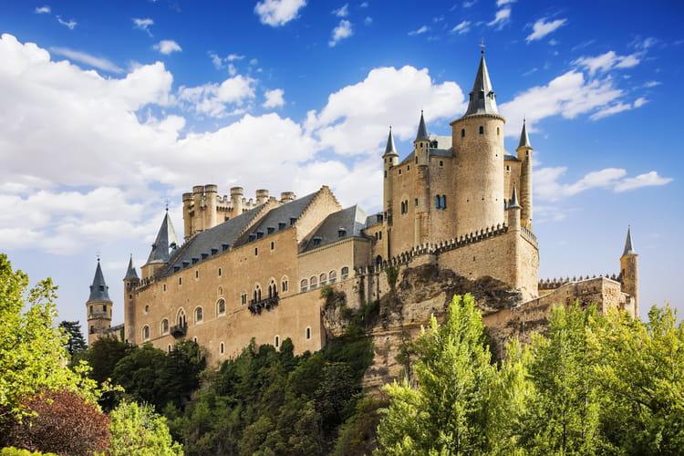 Le château de Ségovie en Espagne