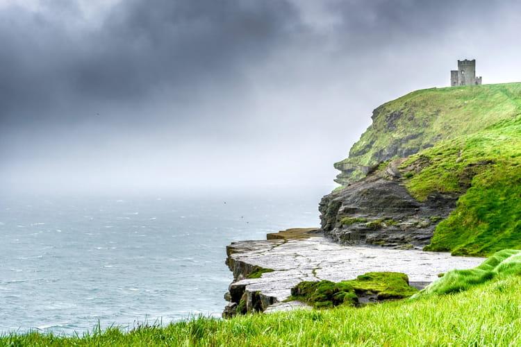 Les falaises de Moher en Irlande
