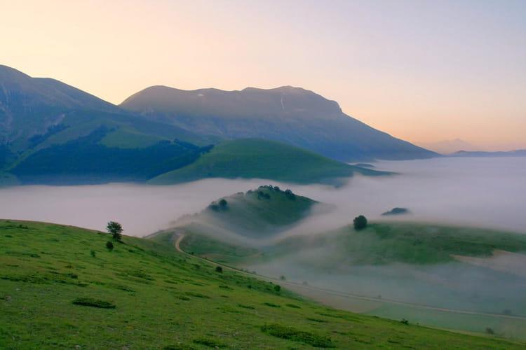 Les monts Sibyllins en Italie