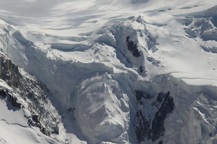 L'Aiguille du Midi, le Mont Blanc