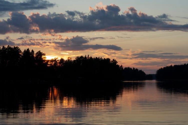 Les mille lacs en Finlande