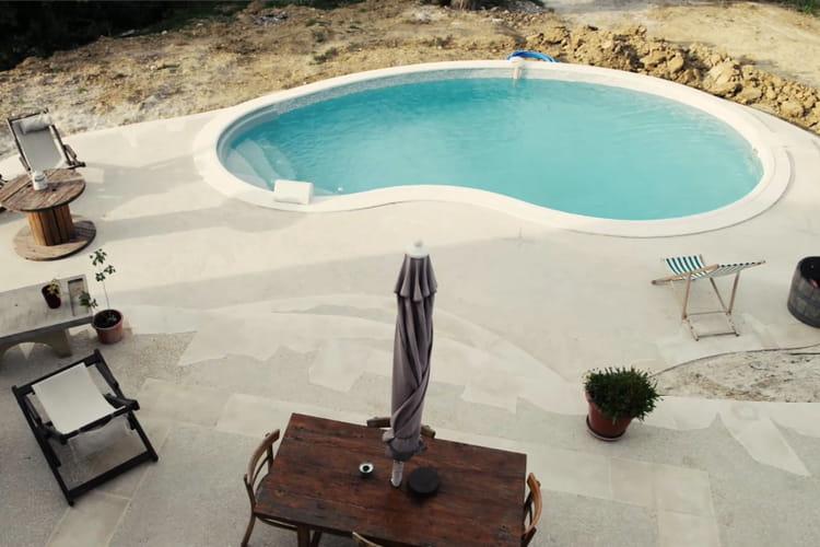 La piscine la fin des travaux d couvrez comment monter - Peut on se baigner dans une piscine trouble ...