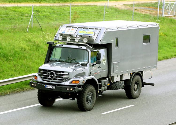 camping car mercedes benz zetros. Black Bedroom Furniture Sets. Home Design Ideas