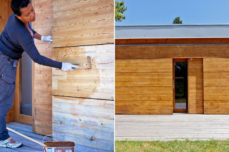 Repeindre une fa ade en bois pas pas linternaute for Repeindre une facade en crepi