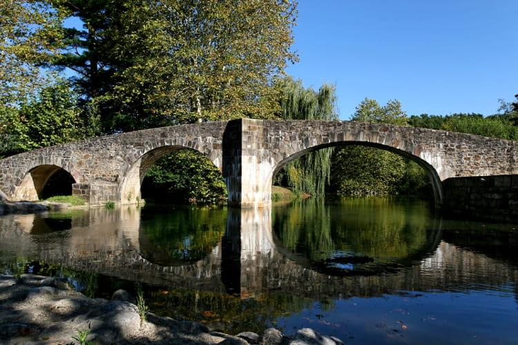 Pays basque : Le Pont romain d'Ascain