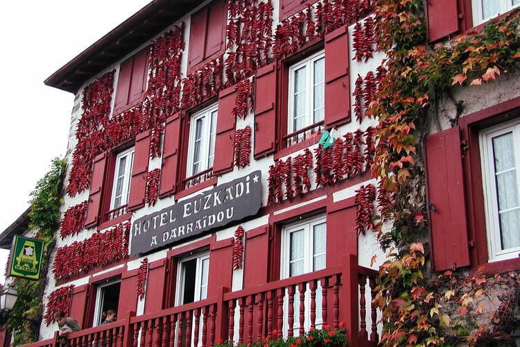 Pays basque : Espelette