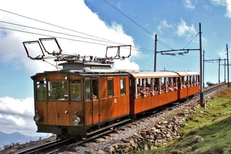 Pays basque : Le petit train de la Rhune
