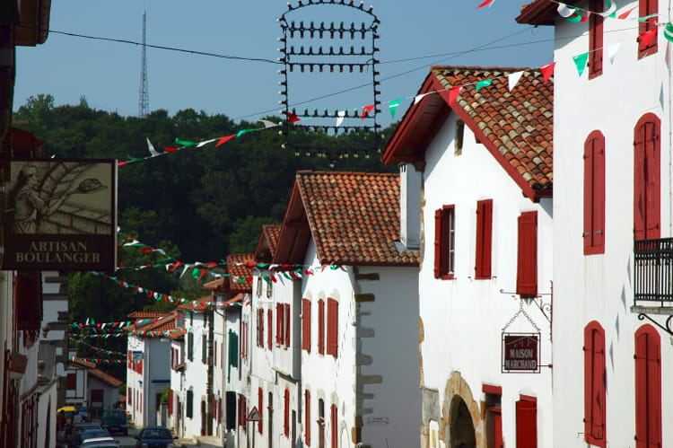 Pays basque : La Bastide Clairence