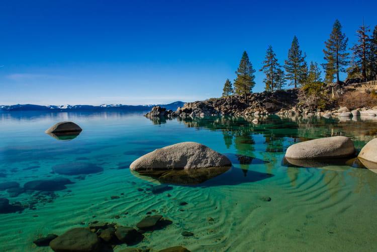 Le Lac Tahoe Etats Unis Les 100 Paysages Du Monde