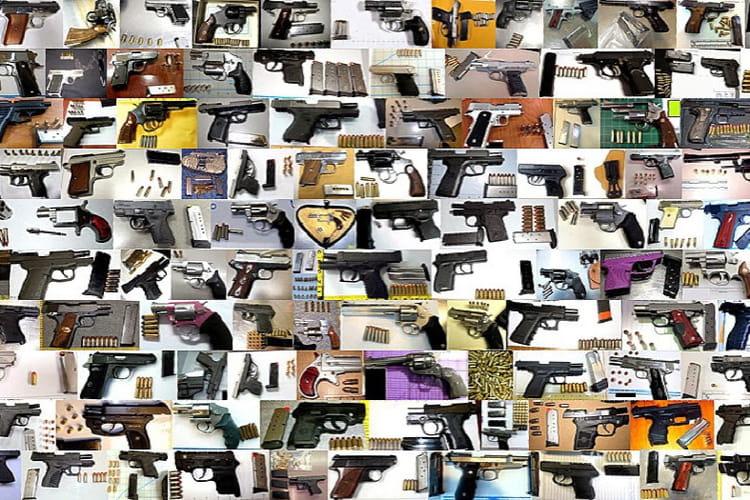 Des armes des armes des armes 20 objets fous et for Salon des armes a feu