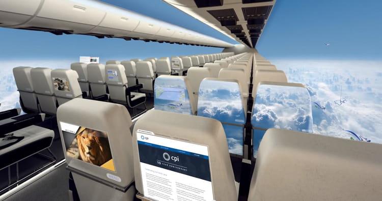 L'avion sans fenêtres : le futur du voyage ?