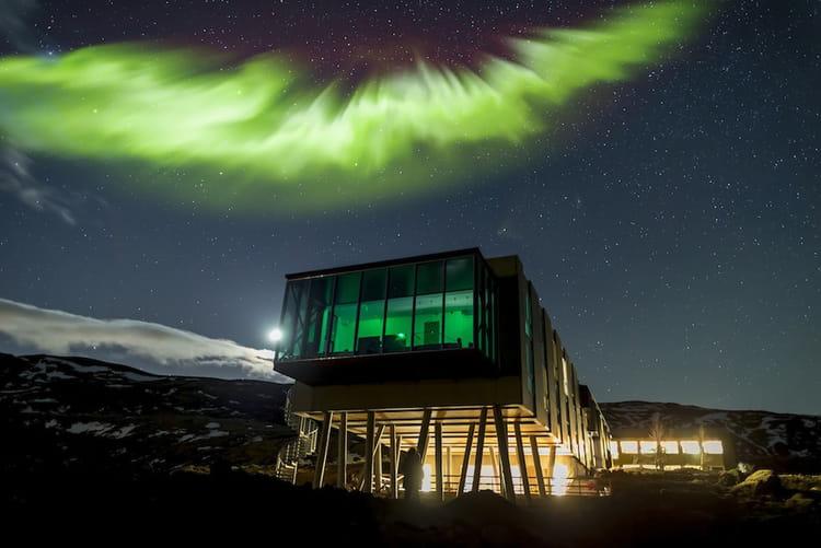 Le ion luxury adventure hotel selfoss 20 h tels for Hotel plus proche