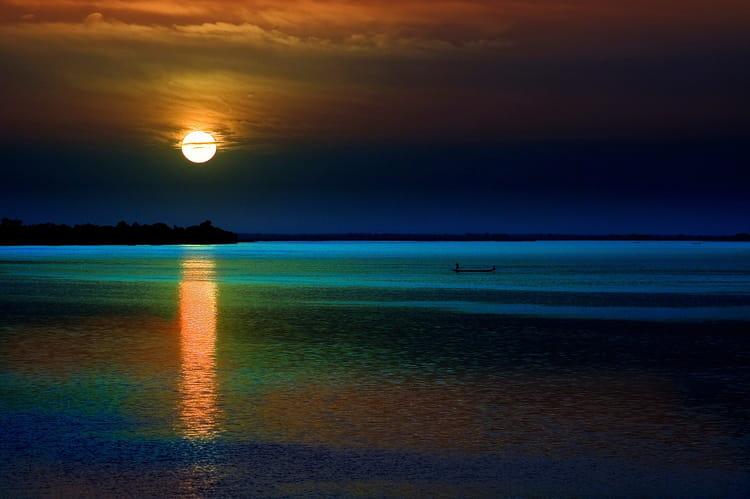 coucher de soleil au mali
