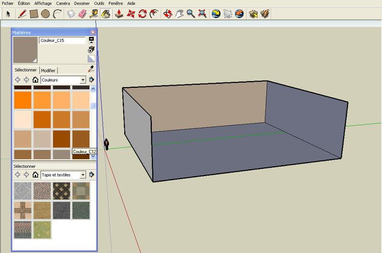 Le pot de peinture r aliser un plan en 3d avec google for Realiser un plan 3d
