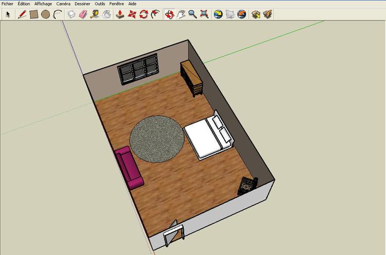 Un logiciel facile et ludique r aliser un plan en 3d for Amenager une piece en 3d