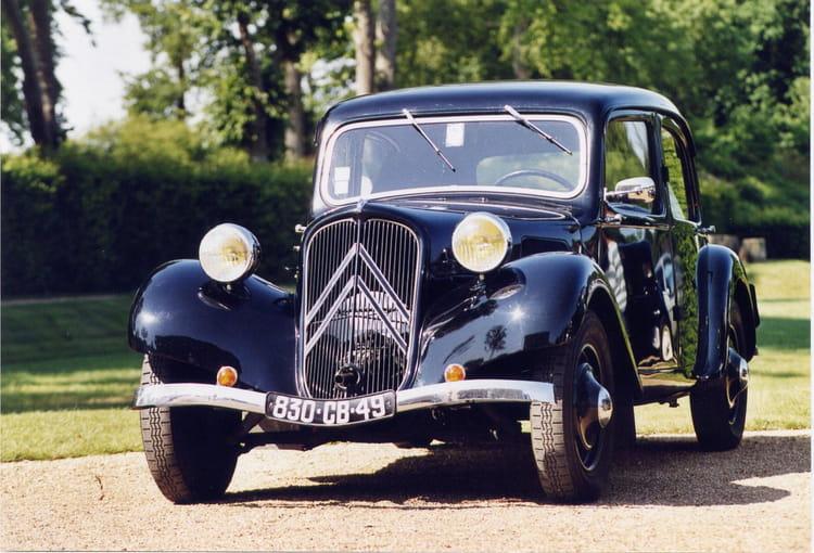 Naissance Citroën Traction