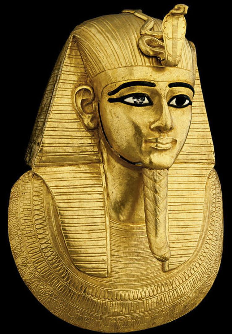 Masque funéraire pharaon