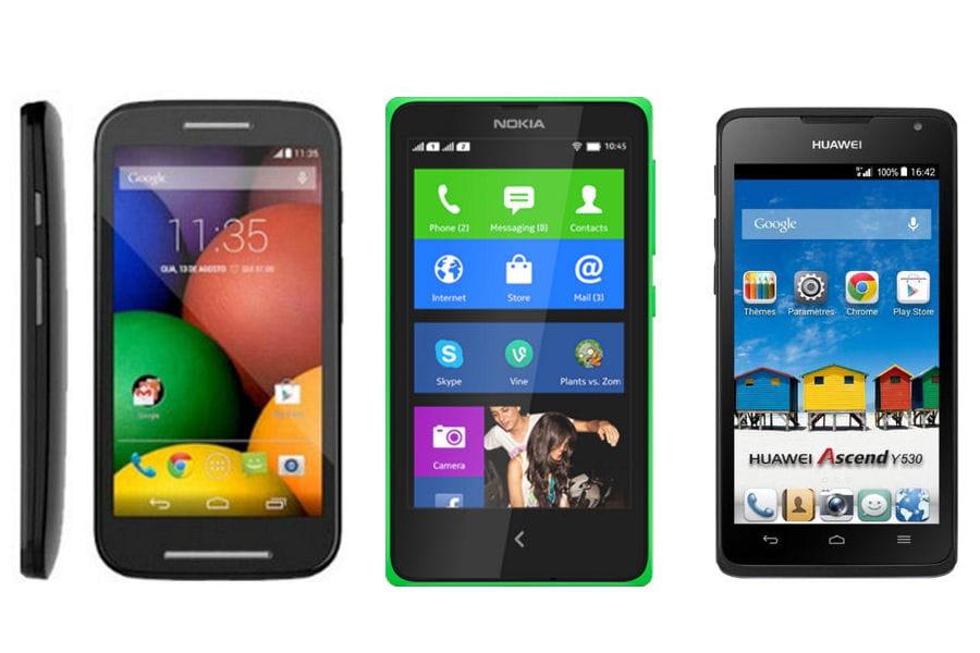 10 smartphones android moins de 100 euros linternaute. Black Bedroom Furniture Sets. Home Design Ideas