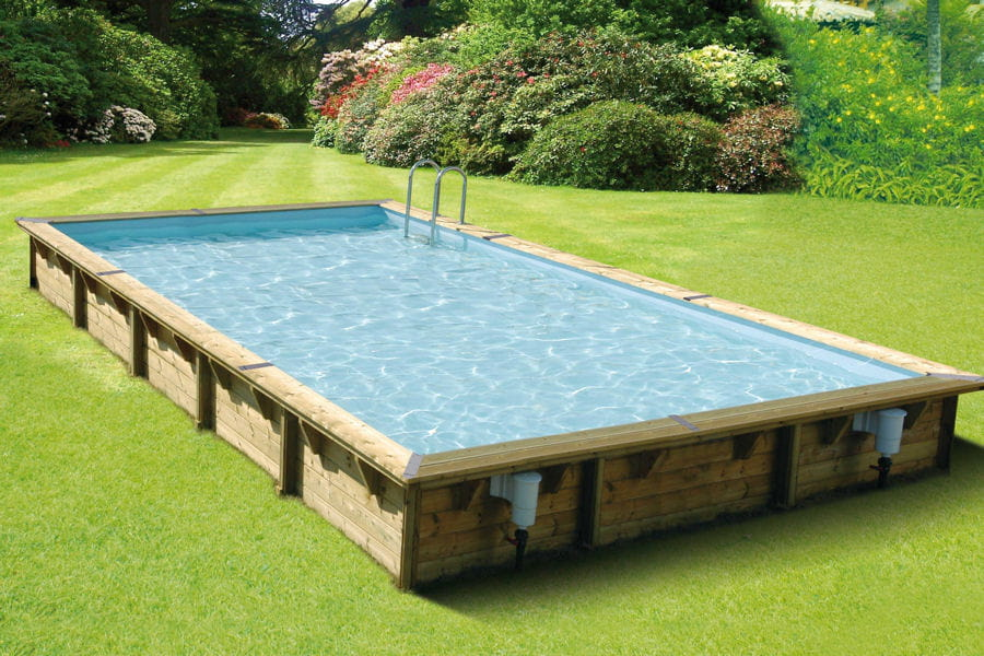 Une piscine hors sol xxl piscines hors sol anticipez for Piscine en bois a enterrer