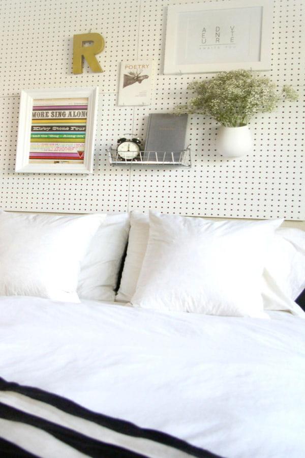 une t te de lit pour les bricolos des t tes de lit. Black Bedroom Furniture Sets. Home Design Ideas