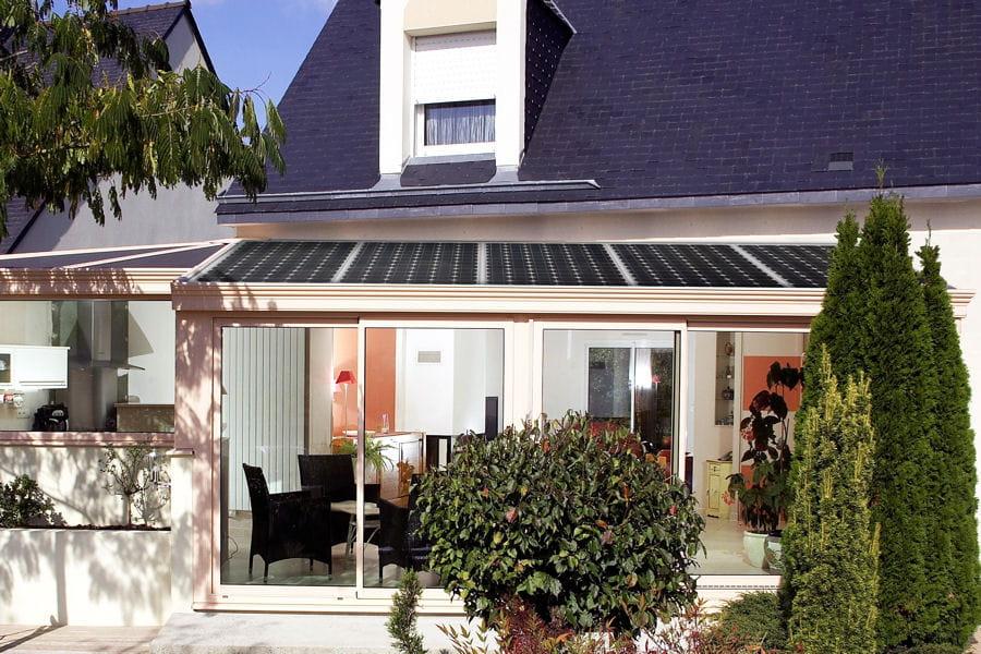 Une v randa solaire 20 belles v randas pour agrandir votre maison lintern - Veranda profil systeme ...