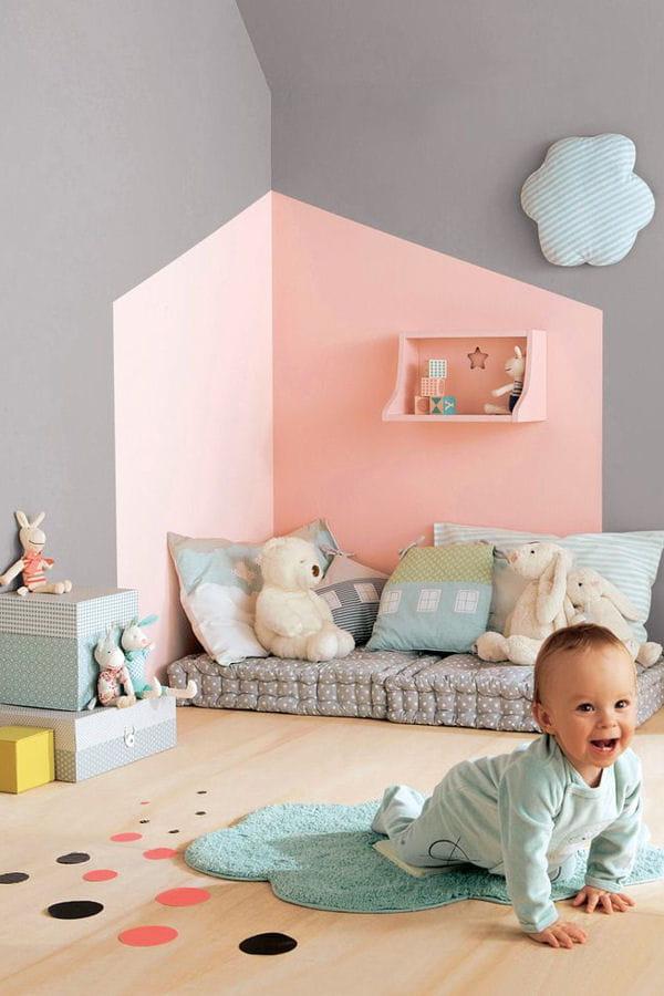 Une chambre color e des chambres de b b bien inspir es - Chambre bien decoree ...
