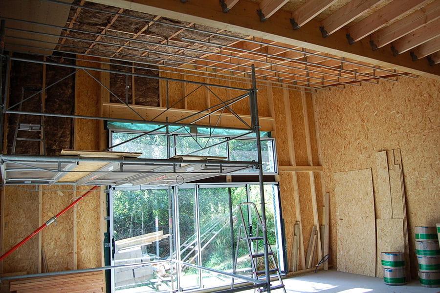 Isolation Laine De Bois Avis - L'isolation en laine de bois Suivez la construction d'une maison d'architecte basse