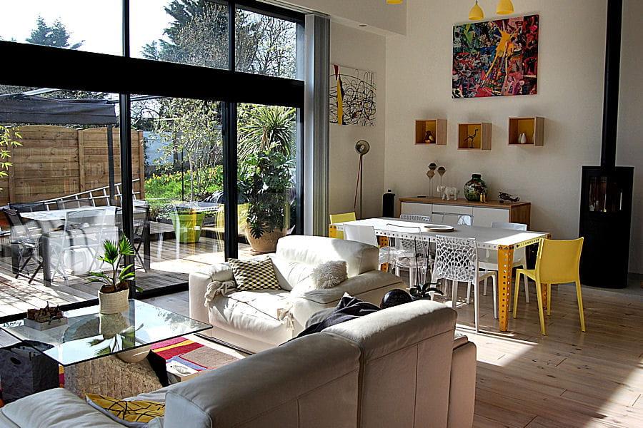 Suivez la construction d 39 une maison d 39 architecte basse for Magazine construction maison