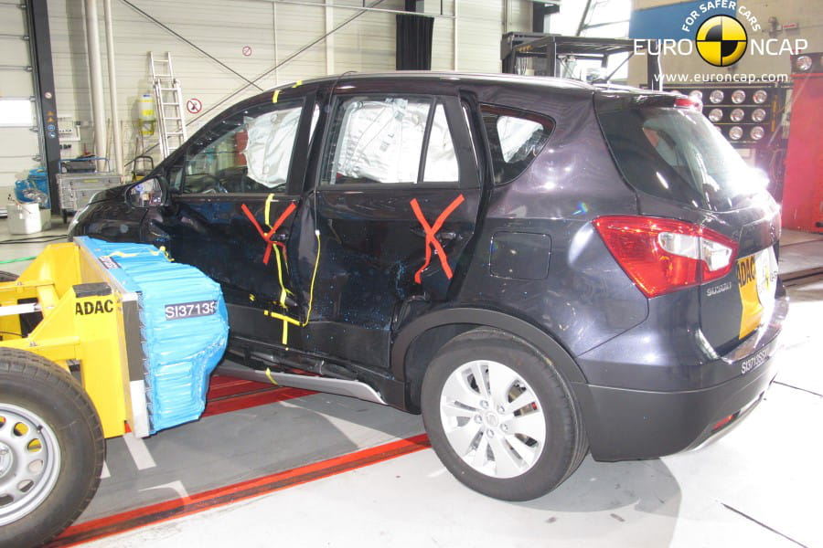 suzuki sx4 s cross 2013 crash test les voitures les plus s res selon euro ncap classement. Black Bedroom Furniture Sets. Home Design Ideas