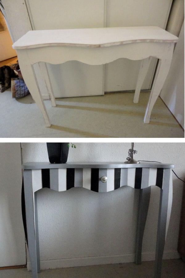 Une console baroque - Une console meuble ...