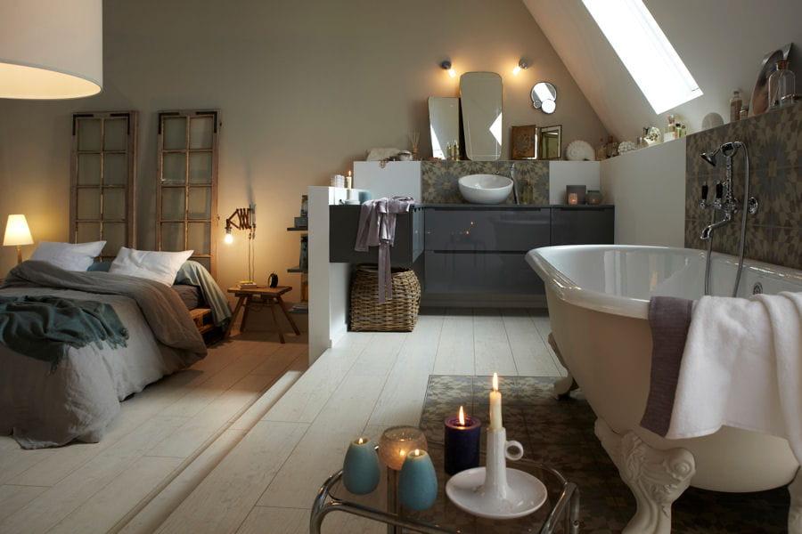 une grande suite parentale de bonnes id es pour am nager. Black Bedroom Furniture Sets. Home Design Ideas