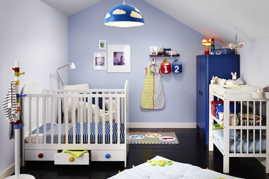 Une jolie chambre de b b for Amenager une chambre de bebe