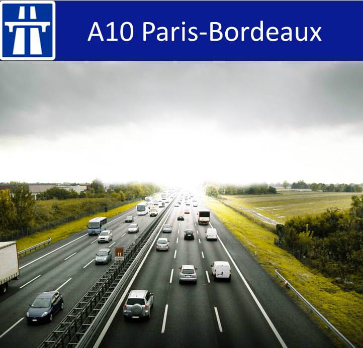 12e a10 paris bordeaux 10 02 centimes km autoroutes quelles sont les plus ch res de. Black Bedroom Furniture Sets. Home Design Ideas