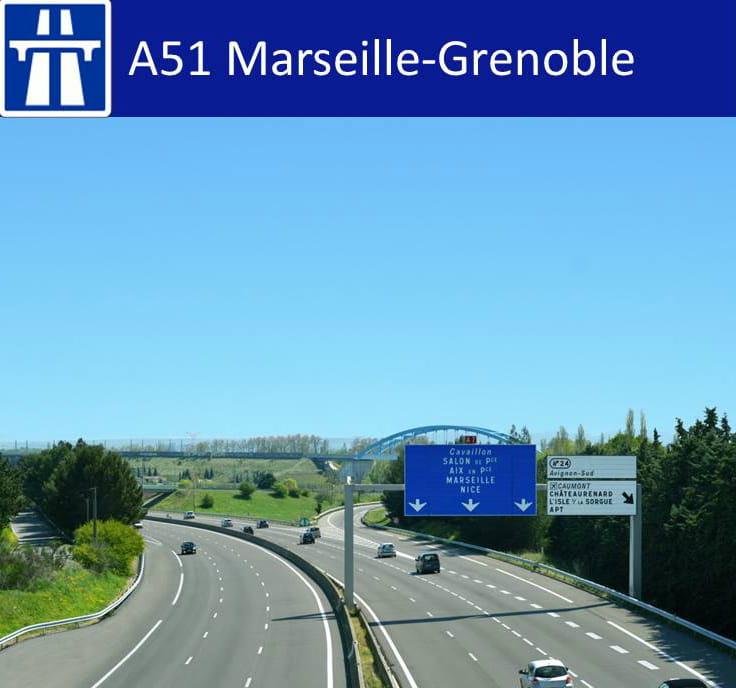 A51 autoroute
