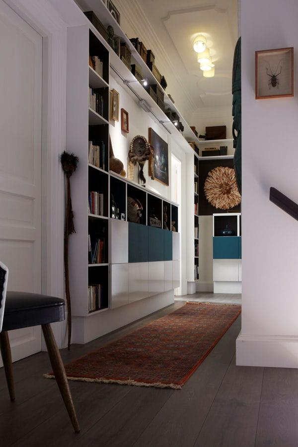 un coin biblioth que. Black Bedroom Furniture Sets. Home Design Ideas