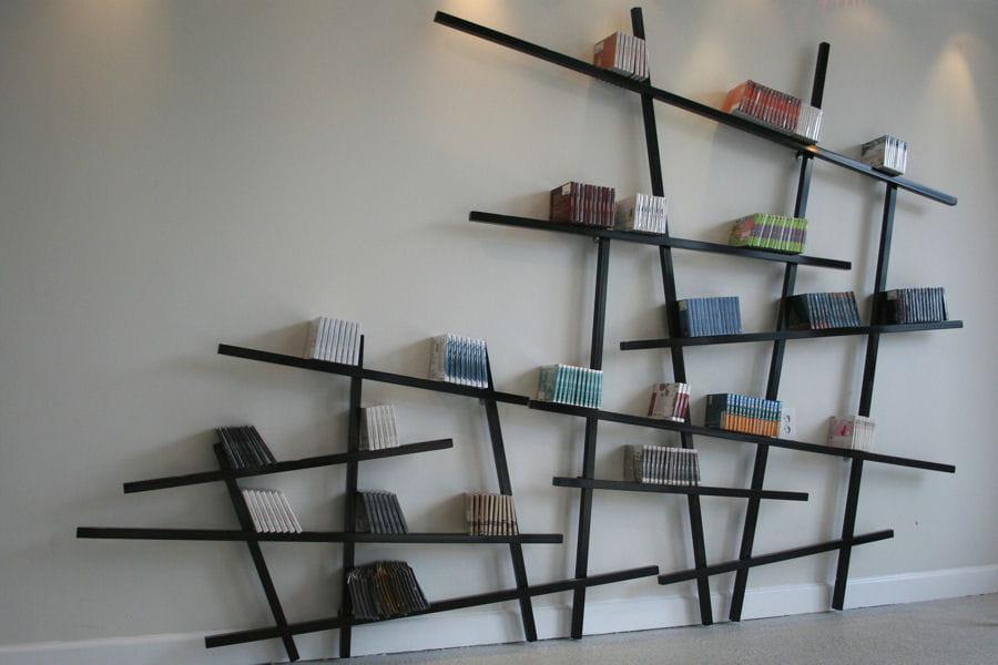 un jeu de mikado g ant des tag res tendance qui donnent envie de tout ranger linternaute. Black Bedroom Furniture Sets. Home Design Ideas