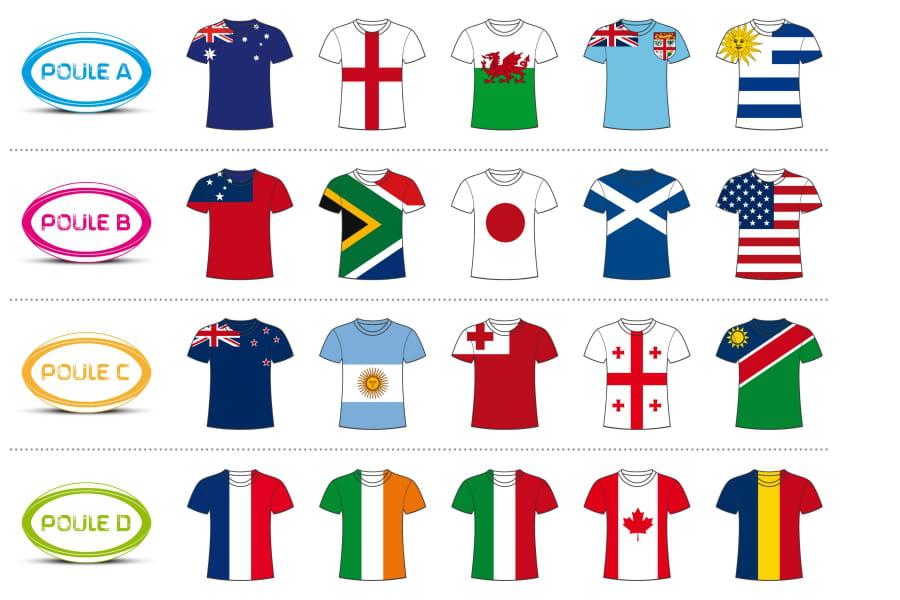 Coupe du monde de rugby 2015 le xv de france en - Programme coupe du monde de handball 2015 ...