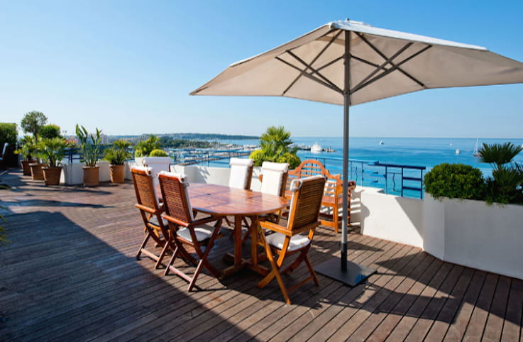 La penthouse suite du grand hyatt cannes h tel martinez for Prix chambre martinez cannes