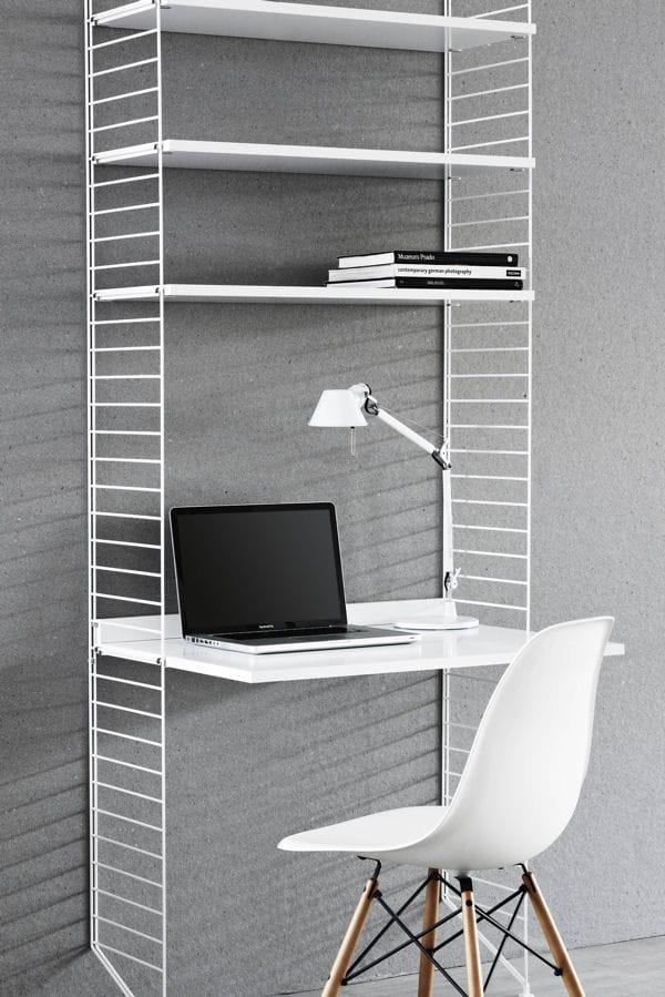 Un bureau gain de place des id es pour am nager votre coin bureau lintern - Amenagement gain de place ...