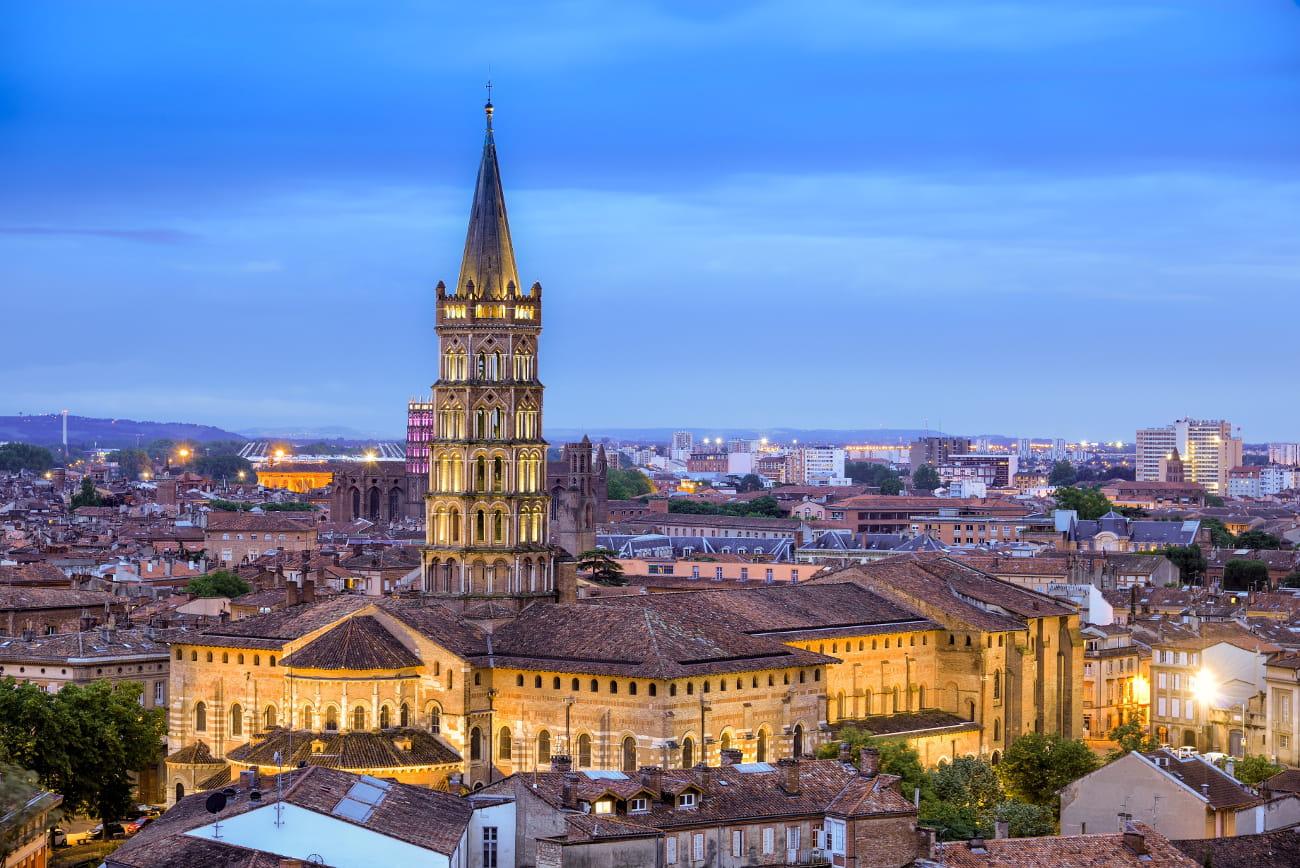 La basilique Saint-Sernin à Toulouse : Les plus belles ...: http://www.linternaute.com/sortir/magazine/1242360-les-plus-belles-etapes-du-chemin-de-compostelle/1245904-la-basilique-saint-sernin-a-toulouse