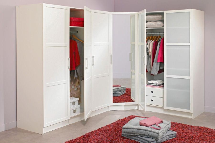 ces dressings qui donnent envie de ranger linternaute. Black Bedroom Furniture Sets. Home Design Ideas