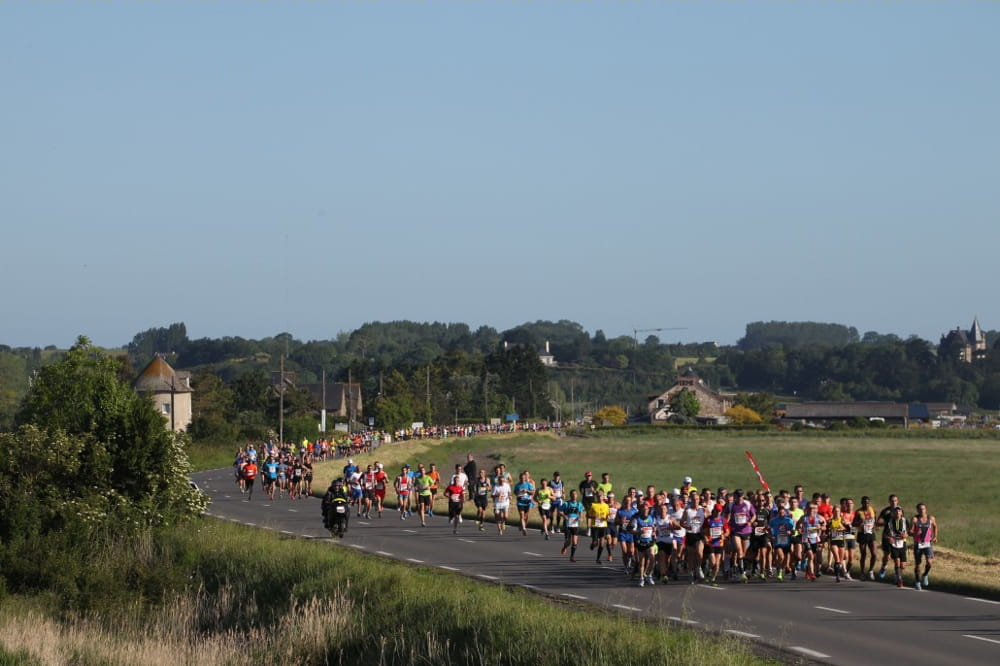 marathon du mont st michel 1 30 au kilom 232 tre les courses 224 pied les plus ch 232 res au